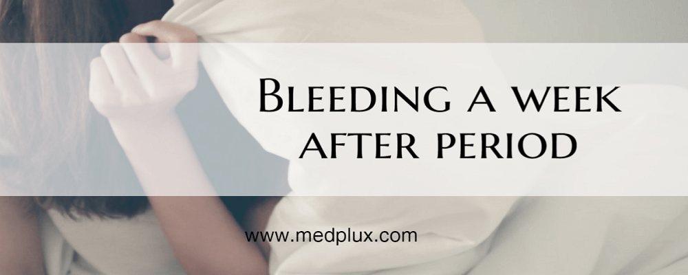 Bleeding a Week After Period With Cramps: Heavy or Light ...